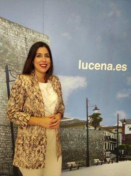 La primera teniente de alcalde del Ayuntamiento de Lucena y portavoz del gobierno municipal, Teresa Alonso (PSOE), en una imagen de archivo.