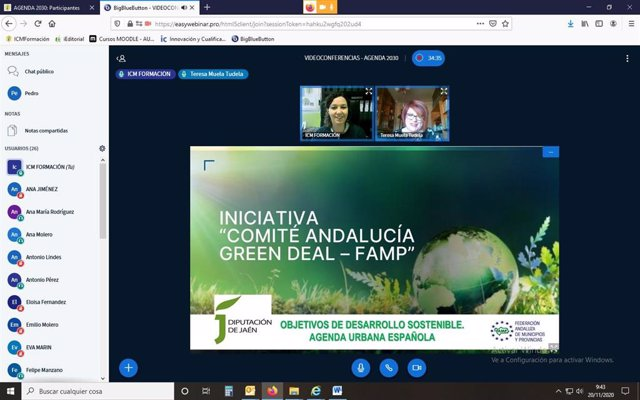 Presentación del Comité Andaluz Green Deal.