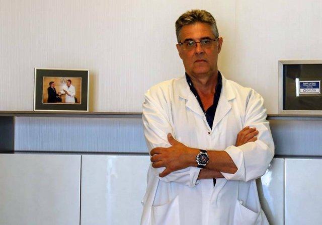 El doctor David Navarro