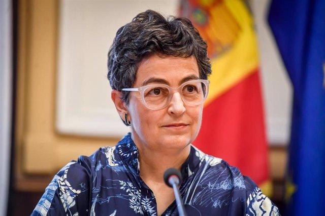 La ministra de Exteriores española, Arancha González Laya, en una imagen de archivo