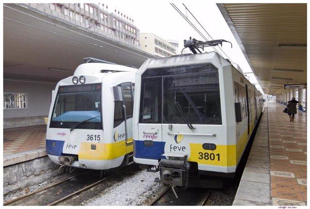 Trenes en Santander (FEVE)
