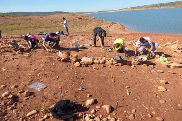 Excavaciones arqueológicas en Valcuendo