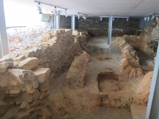 Restos romanos del Palacio de Mayoralgo