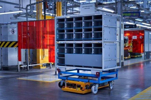 Robot 'STR' en las instalaciones de BMW