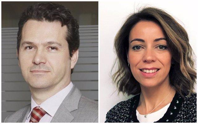 El candidato propuesto para presidir la CNMV, Rodrigo Buenaventura, y la candidata a la vicepresidencia, Montserrat Martínez Parera.