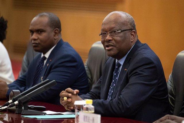 Roch Mark Christian Kaboré, presidente de Burkina Faso