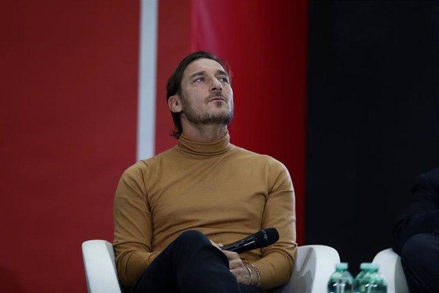 El exjugador de la Roma Francesco Totti