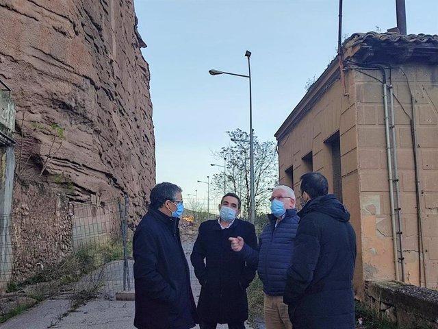Visita del consejero Rubio a Nájera