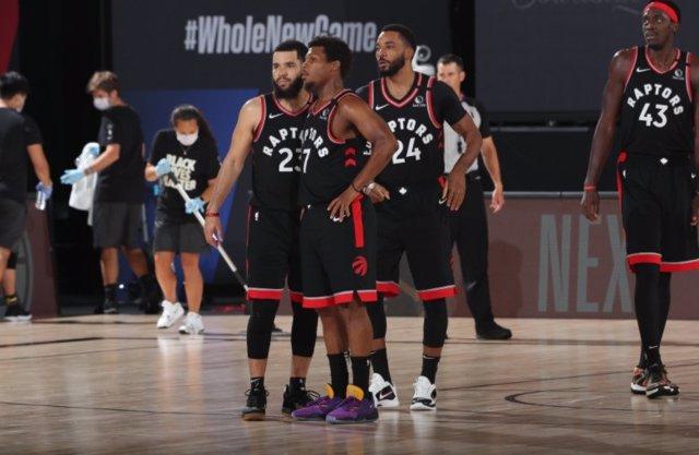Toronto Raptors en la burbuja NBA de Disney