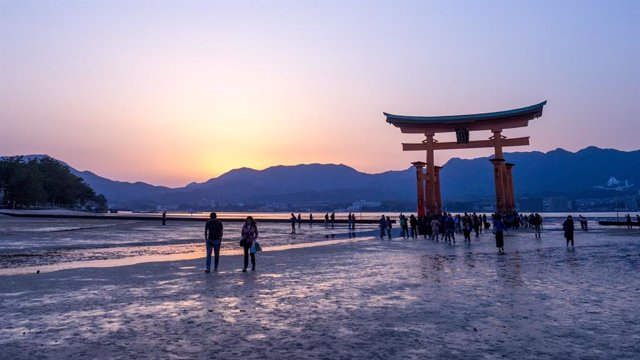 Playa cercana a Hiroshima