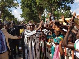Zéphirin Diabré, líder de la oposición en Burkina