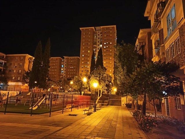 Imagen de archivo de los bloques de viviendas de Ciudad Aljarafe, en Mairena
