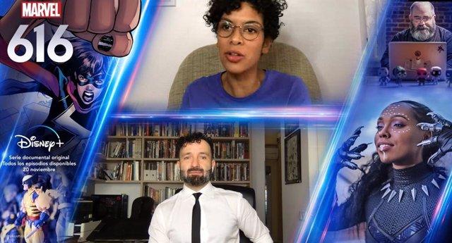 """Javier Garrón y Natacha Bustos, dibujantes españoles de Marvel: """"Igual que hay Hijos del Átomo habrá Hijos del COVID"""""""