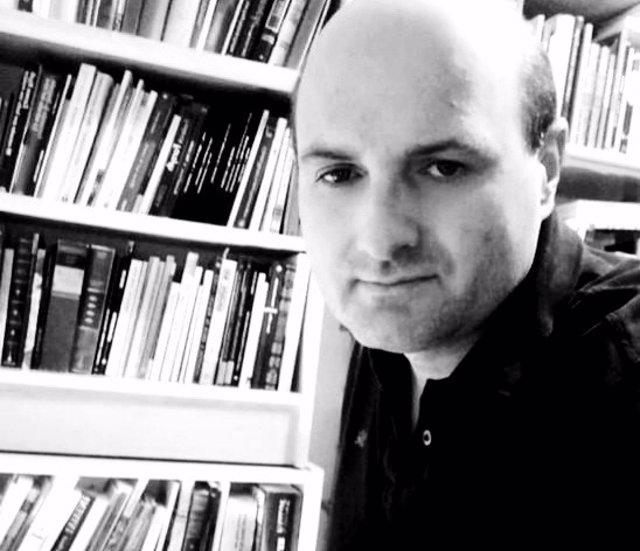El escritor vallisoletano Jorge David Alonso Curiel.