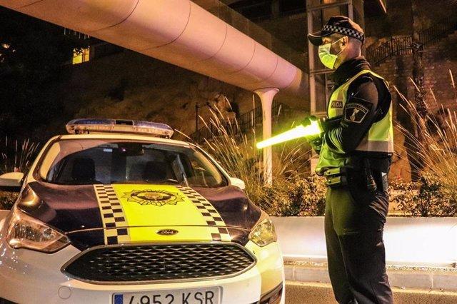 Vehículo de la Policía Local de Alicante