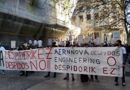 Los trabajadores de Aernnova realizarán un paro parcial el día 26 en protesta por el ERE