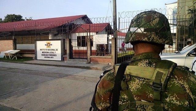 Un soldado de Colombia