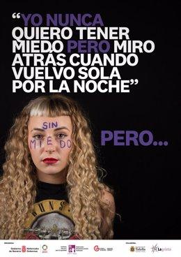 Uno de los carteles de la campaña