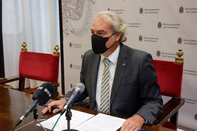 El concejal de Derechos Sociales, José Antonio Huertas