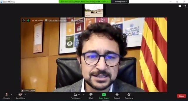 El conseller de Territorio y Sostenibilidad de la Generalitat de Catalunya, Damià Calvet