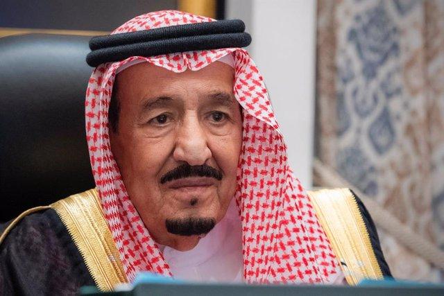 El rey de Arabia Saudí, Salmán bin Abdulaziz al Saud