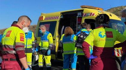 Muere un ciclista de 51 años al colisionar con una furgoneta que estaba parada en la M-506