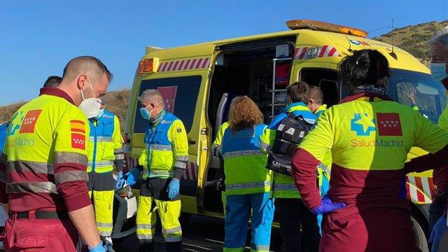 Fallece un ciclista de 51 años colisionar con una furgoneta en el kilómetro 44 de la M-506 a su paso por San Martín de la Vega.