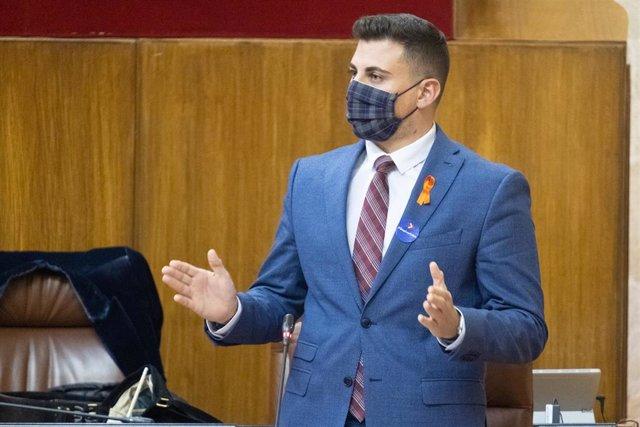 El parlamentario andaluz del PP, Rafael Caracuel,