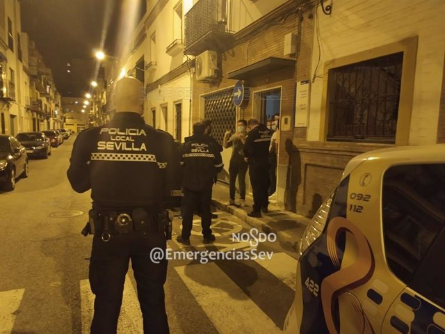 La Policía Local en Triana