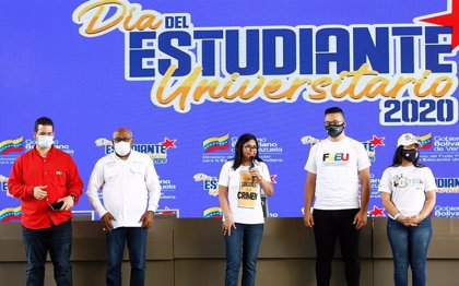Venezuela.- Delcy Rodríguez quita importancia a que Estados Unidos y la UE no reconozcan las elecciones venezolanas