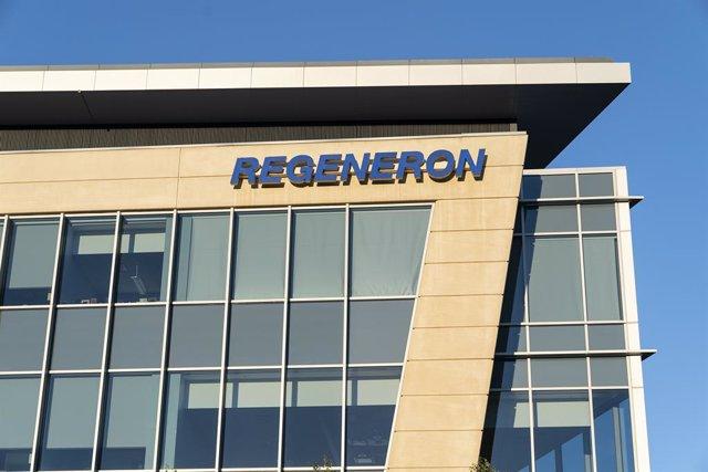Sede de la compañía Regeneron, cuyo fármaco para el coronavirus ha recibido la autorización de emergencia de la FDA.