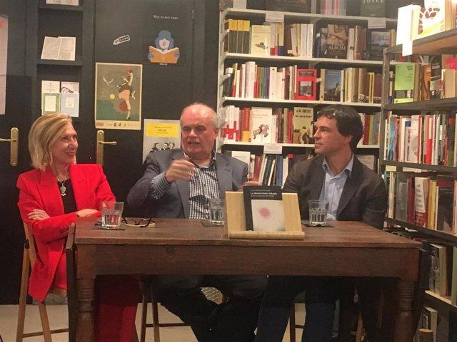 Rosa Díez, Andrés Herzog, y Carlos Martínez Gorriarán