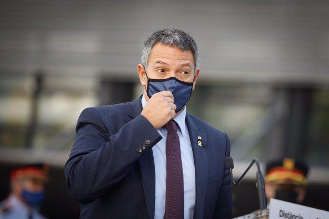 El conseller d'Interior de la Generalitat de Catalunya, Miquel Sàmper.
