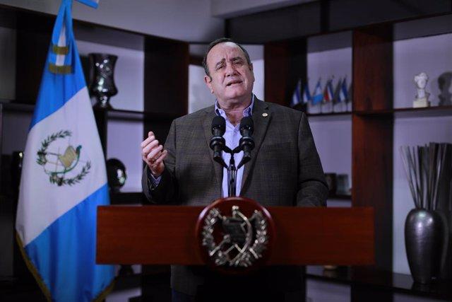 El president de Guatemala, Alejandro Giammattei