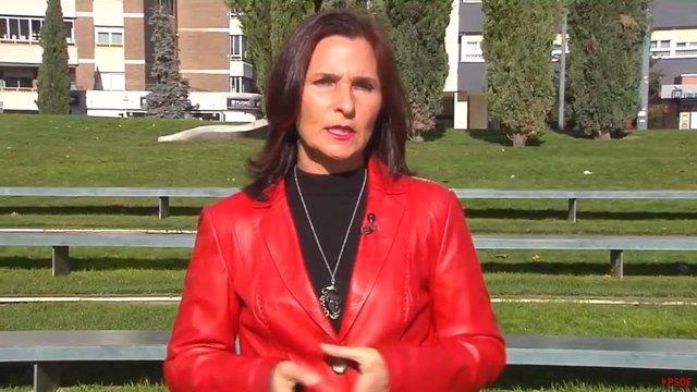 La diputada socialista Luz Martínez Seijo, en declaraciones a los medios para hablar sobre la LOMLOE ('Ley Celaá')