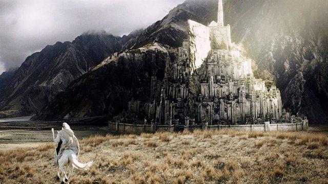 Ganfalf en El señor de los anillos