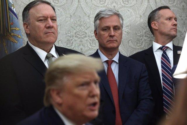 El asesor de Seguridad Nacional de Donald Trump, Robert O'Brien