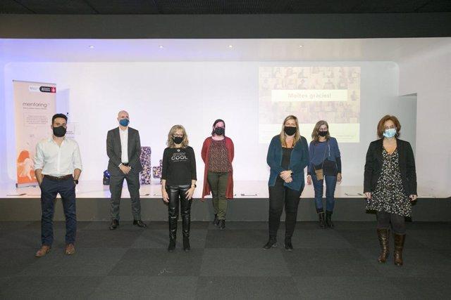 Convenció virtual de la xarxa de mentoria per buscar feina de Barcelona Activa.