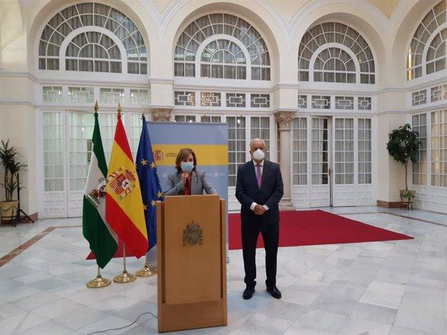 La delegada del Gobierno en Andalucía, Sandra García, en una imagen de archivo