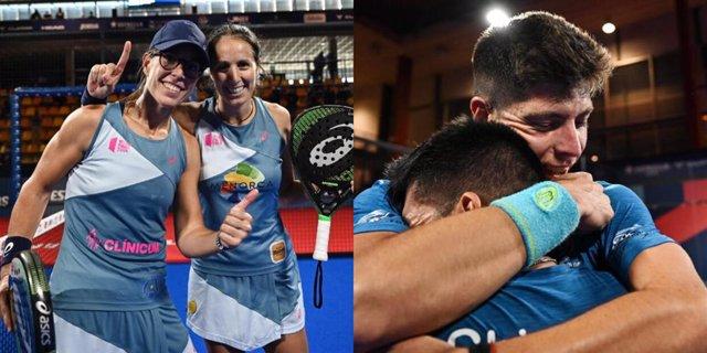 Lucía Sainz i Gemma Triay i Fede Chingotto i Juan Tello, campions del Cupra Las Rozas Open del World Padel Tour