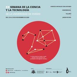 Cartel de la Semana de la Ciencia 2020.