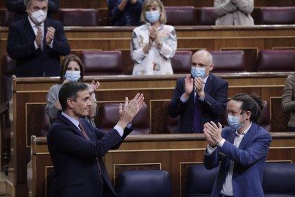 Sánchez no descarta ampliar la prohibición de los desahucios y confirma su confianza en Iglesias y Unidas Podemos