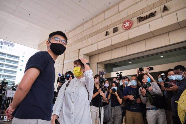 El activista de la oposición de Hong Kong, Joshua Wong.
