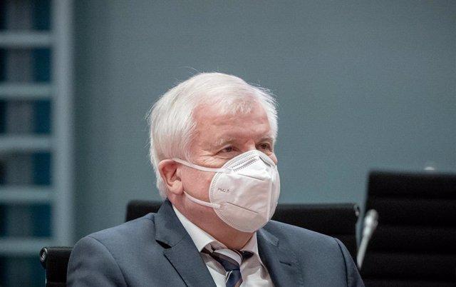 Horst Seehofer, ministro del Interior de Alemania, en la sede del Gobierno alemán, en Berlín