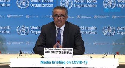 """La OMS pide al G20 distribuir de manera """"justa"""" entre la población la futura vacuna contra el Covid-19"""