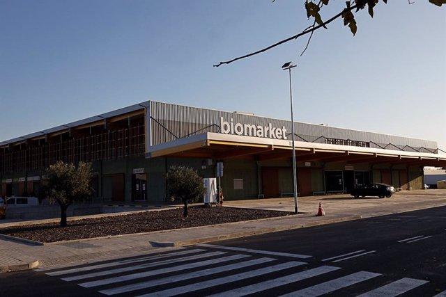 Biomarket, mercat majorista d'aliments ecològics a Mercabarna, obert a Barcelona el 23/11/2020