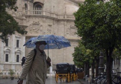 El tiempo soleado terminará el miércoles con la llegada de una borrasca del Atlántico que dejará lluvias en la Península