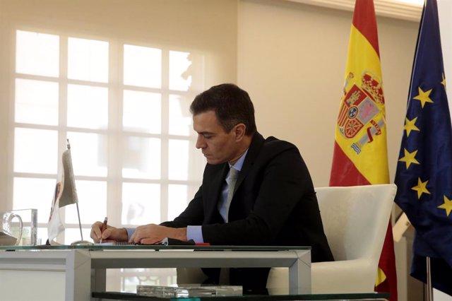 El president del Govern espanyol, Pedro Sánchez. Madrid, (Espanya), 21 de novembre del 2020.