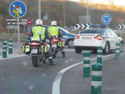 Un fallecido y cinco heridos en los seis accidentes registrados este fin de semana en carreteras de C-LM