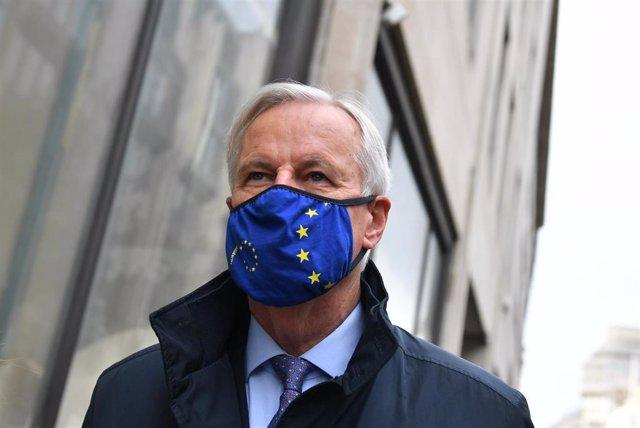 El negociador europeo para el post Brexit, Michel Barnier